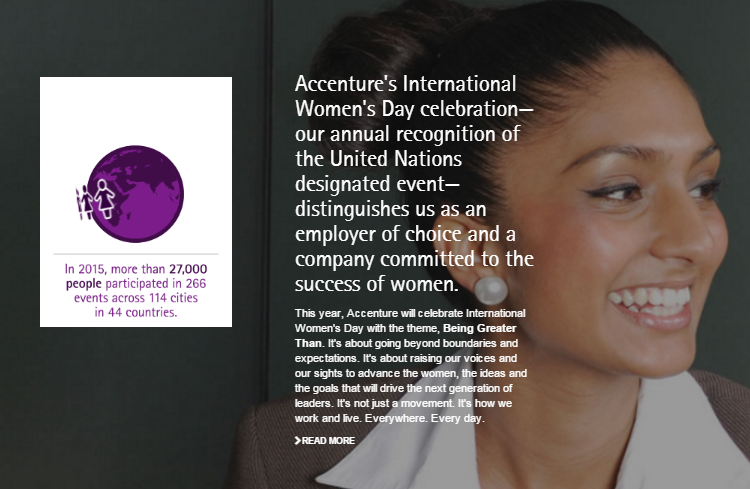 accenture womens day