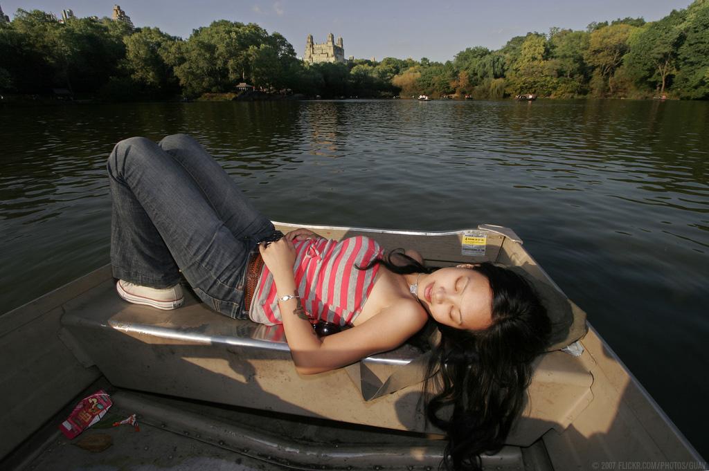 sleeping-in-a-boat