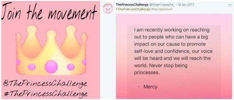 #ThePrincessChallenge