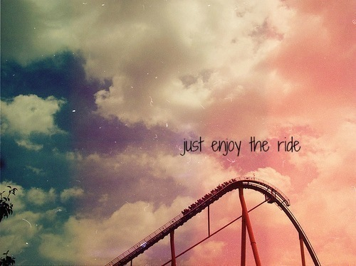 Self-Dare #12: Enjoy the Ride